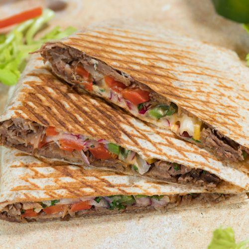Beef Ranch Quesadilla